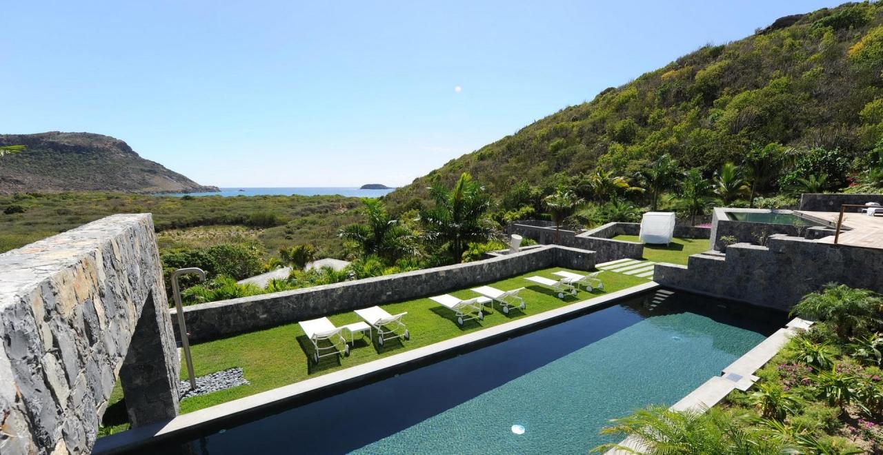 villa dunes, salines, st bartspremium island vacations