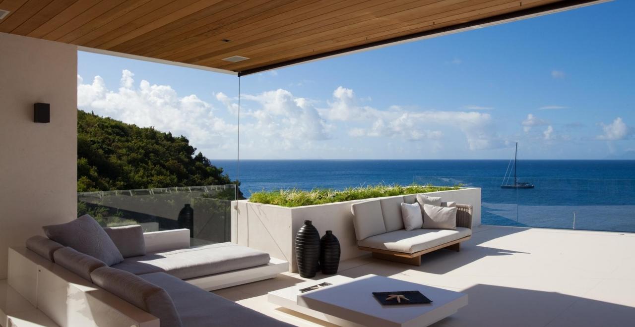 villa vitti, shell beach, st bartspremium island vacations
